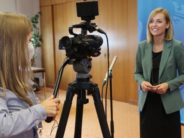Interview de Madame la ministre Taina Bofferding